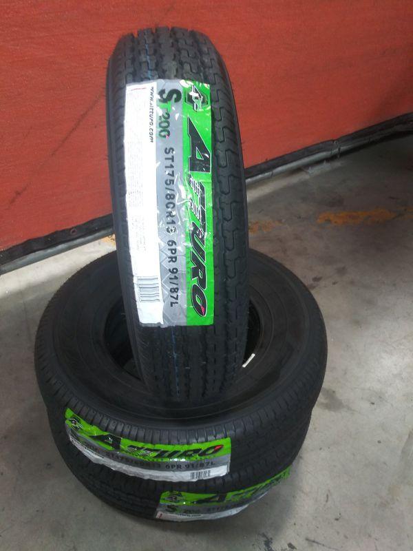 ST175-80-13 Atturo ST200 Trailer Tires