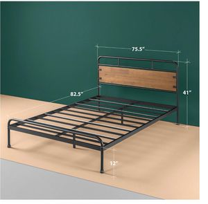 Queen size only bed frame for Sale in Dallas, TX