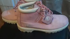 Pink timberland boots for Sale in San Francisco, CA