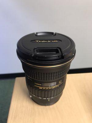 Tokina 17-35mm f/4 Pro FX Lens for Sale in Denver, CO
