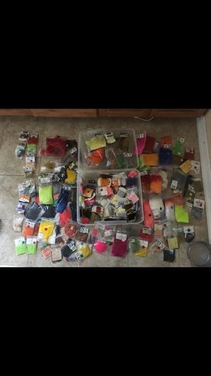 Jig tying material for Sale in Vancouver, WA