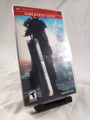 Final Fantasy VII Crisis Core for PSP for Sale in Phoenix, AZ