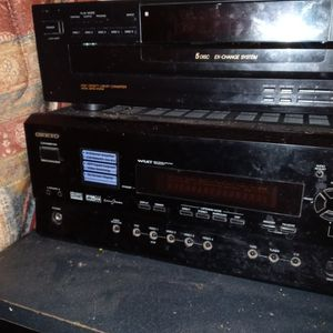 Onkyo Amplifier for Sale in Porterville, CA