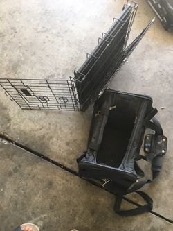 Dog stroller and cage for Sale in San Jose,  CA