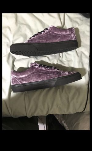 Vans Old Skool Velvet Sea Fog Size 9 Men (10.5 Women) 2018 for Sale in East Hartford, CT