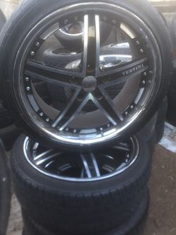 """19"""" rims 5lug 5x120 staggered for Sale in Jurupa Valley,  CA"""