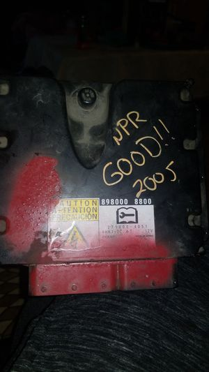 "Isuzu 2005 computadora NPR. Y NQR ""cpu"" for Sale in Colton, CA"