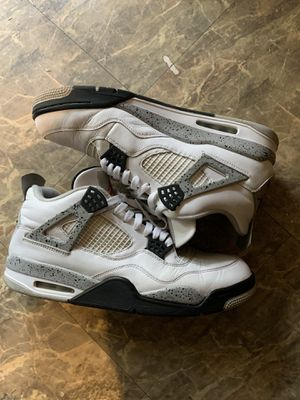 Retro Jordan cement 4s size 13 for Sale in Raleigh, NC