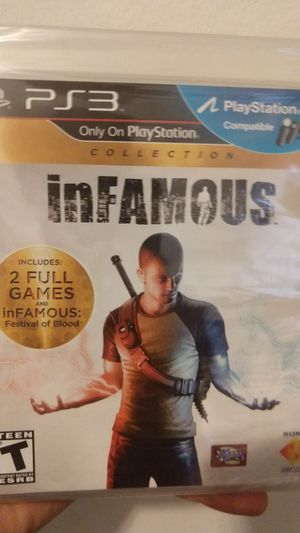 Infamous Collection PS3 Brand New SEALED for Sale in Los Angeles, CA