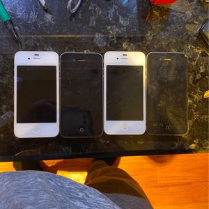 (4) iPhone 4 20$ Each for Sale in Manalapan Township, NJ