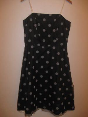 Pretty Black Polka Dot Dress size 11 for Sale in Tacoma, WA