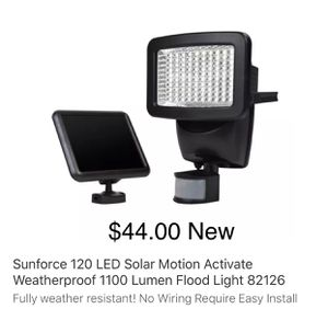 Solar Motion Light Shipped With Fedex Ground!! for Sale in Hawthorne, NJ