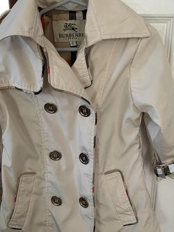 Girls' Double-Breasted Trench Coat Size Small for Sale in Harrisburg,  NC