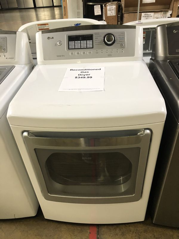reconditioned gas dryer with warranty