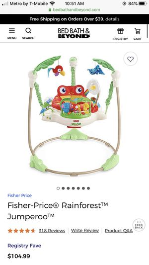 Fisher price Rainforest jumperoo for Sale in Clinton, MD