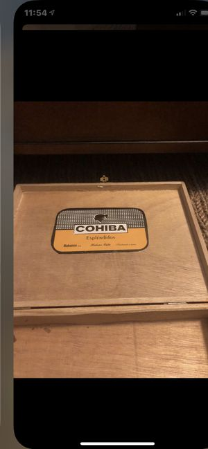 Cigars empty boxes offer up $$$$$ 3.00 each for Sale in Lake Worth, FL