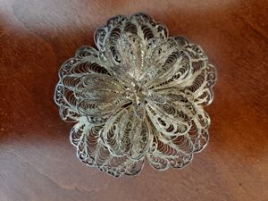 Silver Brooch Pin for Sale in Lexington, OH