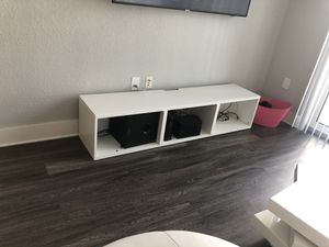 Rotating Coffee Table / Mobile Bar / Two Bookshelves / TV Stand $1200 for Sale in Tamarac, FL