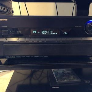 Onkyo 7.1 Audio Video System Includes Remote, Speakers With Stands and Power Subwoofer for Sale in Laguna Niguel, CA