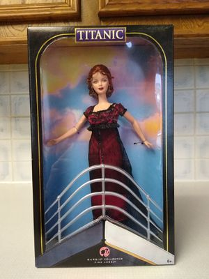 Collectors edition Barbie doll Titanic as Rose. New in box for Sale in Richardson, TX