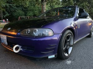 9092 Honda civic hatchback clean title runs and drives great for Sale in Portland, OR