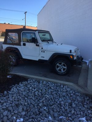 2002 Jeep Wrangler X for Sale in Lexington, KY
