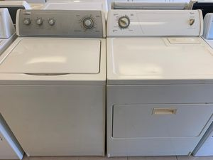 OFFWHITE WASHER AND DRYER SET for Sale in Orlando, FL
