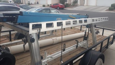 ALUMINUM LADDER RACK WITH SIDE BOXES for Sale in Las Vegas,  NV