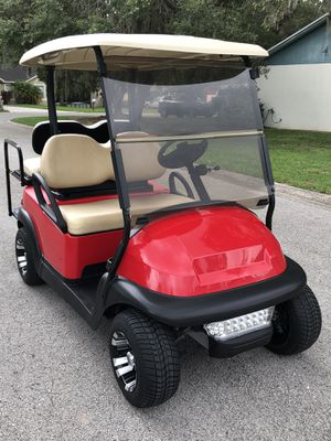 Club cart precedent 2018 like new condition for Sale in Plant City, FL