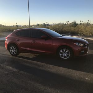 2015 Mazda 3 iSport Hatchback - Red - with Tow Package and Trailer for Sale in Tucson, AZ