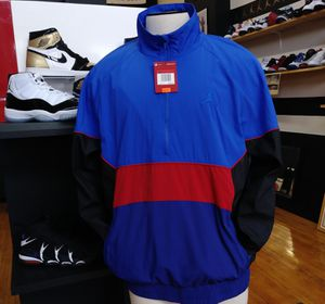 AIR JORDAN RETRO WINDBREAKER PULLOVER JACKET MENS SIZE SMALL NEW WITH TAGS $60 for Sale in Cleveland, OH