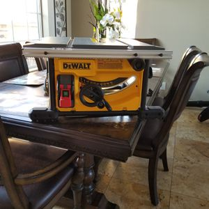 """Dewalt..Dwe7485- table saw 8 1/2"""" missing rip fance, sold as seen in the photo for Sale in Chula Vista, CA"""