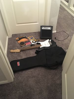 Guitar With extra parts and speaker for Sale in Cave Creek, AZ