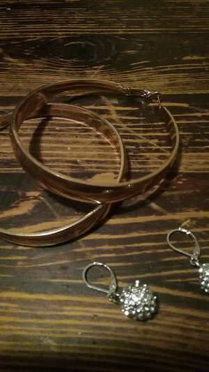 Earrings, bracelet ,package for Sale in Corona, CA