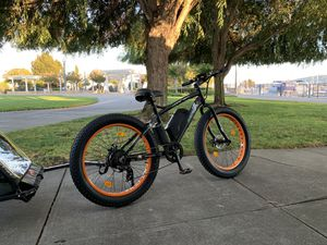 """26"""" 500W 36V 12Ah Lithium battery Electric fat Bike Beach e bicycle moped for Sale in San Francisco, CA"""