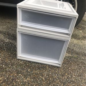 Plastic Drawers for Sale in Bellevue, WA