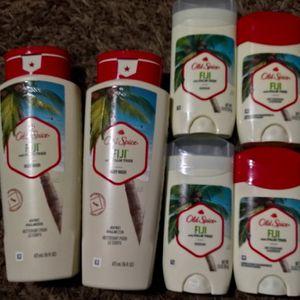2 Old Spice Body wash And 4 Deodorants for Sale in San Bernardino, CA