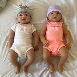 Two Silicone Baby Dolls for Sale in Miami,  FL