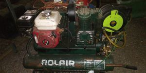 Gas powered air compressor with hose $140 for Sale in Columbus, OH