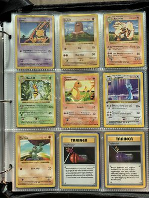Pokemon WOTC Base Set Shadowless & 1st Edition (9) Cards for Sale in Orlando, FL
