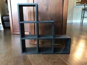 Black shelving (can be hung on wall) for Sale in Doraville, GA