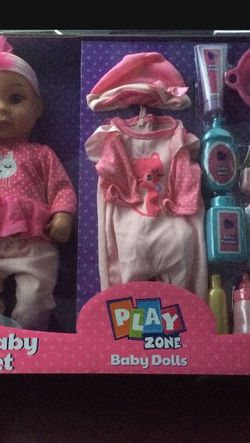 15in Deluxe Baby Doll Set for Sale in Tacoma,  WA