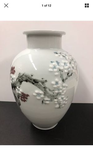 Japanese cherry blossom flower vase for Sale in Los Angeles, CA