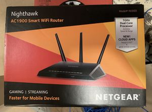 Net gear Nighthawk AC1900 smart WiFi router for Sale in Naperville, IL