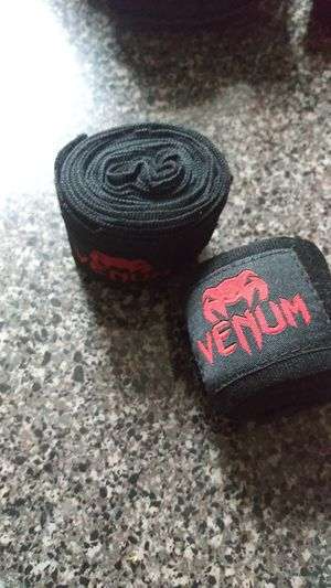 Venum boxing gloves 8oz and wrist wraps $40 for Sale in Hialeah, FL