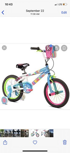"""Girls 16"""" bike little miss match great bicycle for Sale in Queens, NY"""