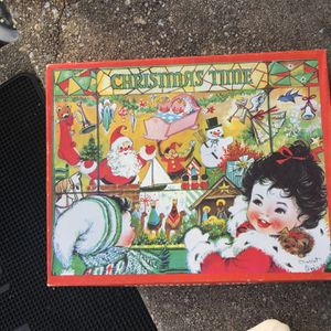 Vintage Christmas pop up book in box for Sale in Parkville, MD
