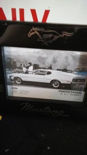 Ford Mustang Picture Frame for Sale in Evansville, IN