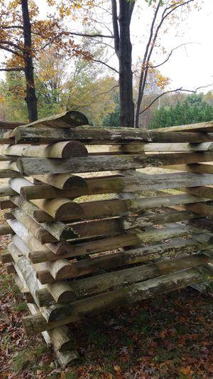 PT 1/2 fence posts used 5/each for Sale in Haymarket, VA