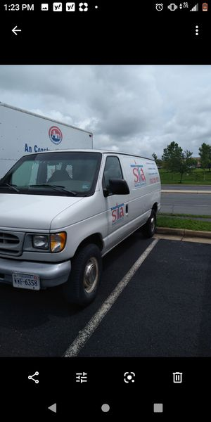 Ford E250 cargo van auto ac v6 low miles 106k org miles for Sale in Fairfax, VA